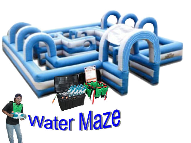 Water Tag Wow Party Rentals
