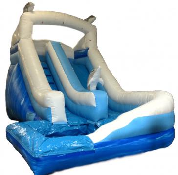 Mega Marble Dolphin Water Slide